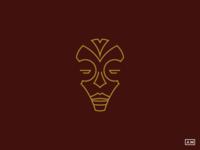 African Mask - Logo Design
