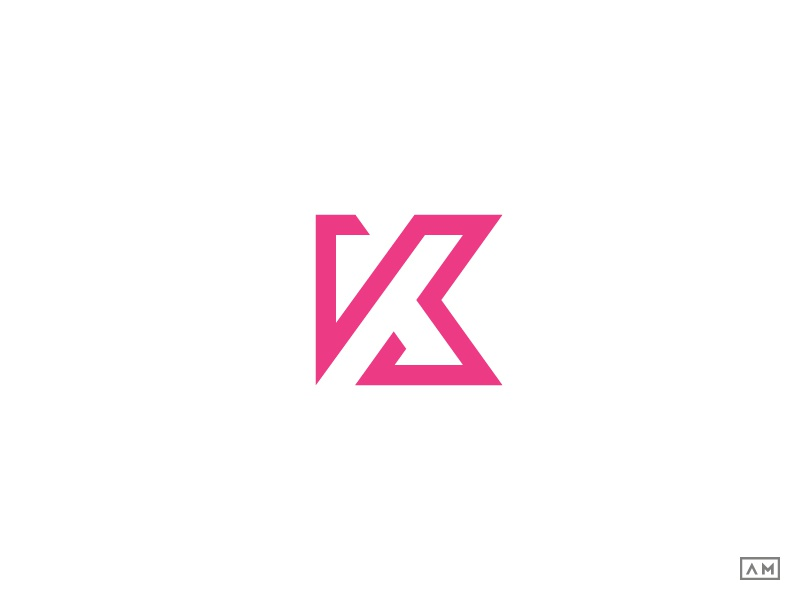 K Logo Design Symbol Mark Icon Monogram By Alexandru