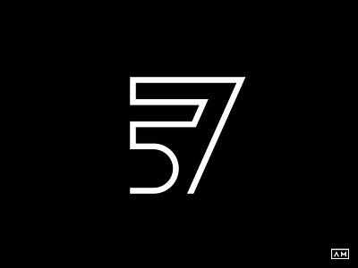 57 Lettermark Wordmark Lineart Logo wordmark type logotype modern minimal mark lineart logodesign logo lettermark branding brand