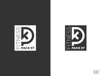 Pack 57 Fitness Logo Design Badge