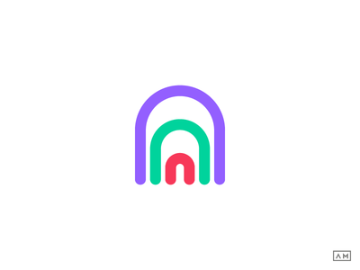 A - Logo Design Symbol Mark Icon