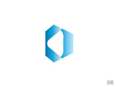 D Logo Design Symbol Mark Icon Type