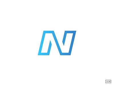 N Logo Mark Monogram startup logo design n logodesign n logo design n mark n symbol brand identity design logo design concept line art logo linear logo monoline logo design modern logo design logodesign