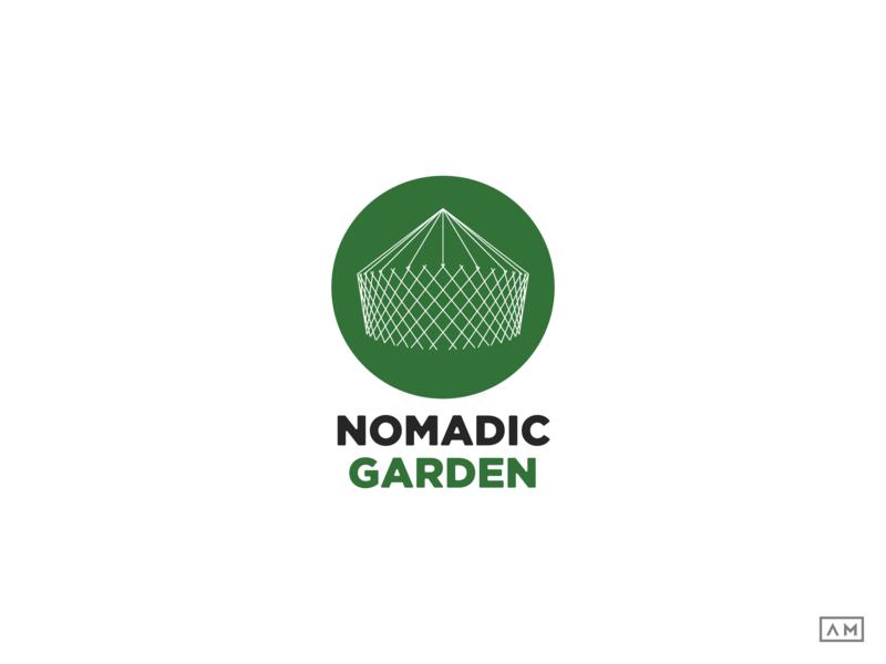 Nomadic Garden Lineart Logo