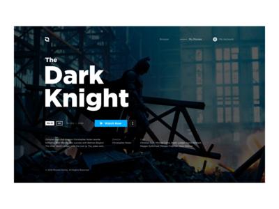 Movies Online Concept