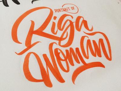 Riga Woman Logo