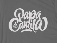 Papa de Camila T-shirt (Final)