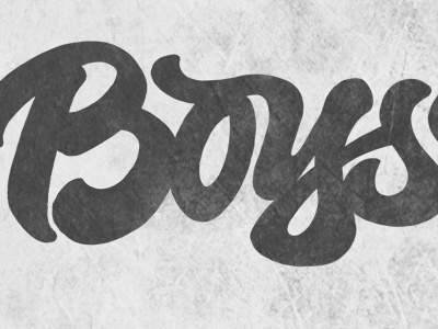 Boys Ride boysride joluvian maker lettering brus calligraphy