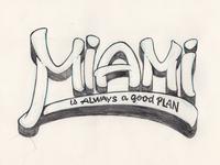 Miami Lettering
