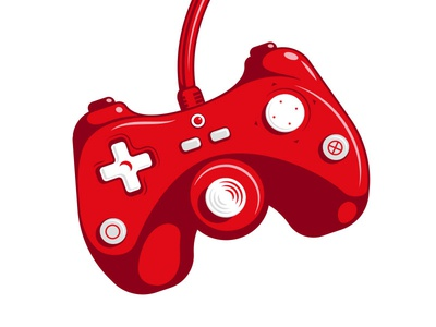 video game controller coca-cola light coke red controller game video