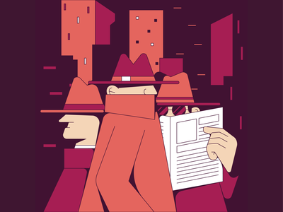 NYC city newyork shapes illustrator icon design digital character graphic flat illustration vector