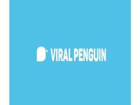 Viral Penguin Logo design