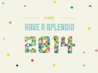 Have a Scroll/Splendid 2014!