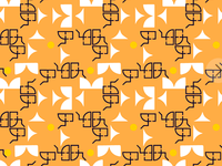 Geometric pattern Athos bulcão