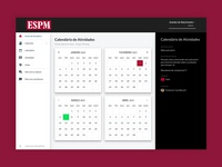 Blackboard calendar redesign