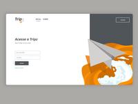 login page tripz