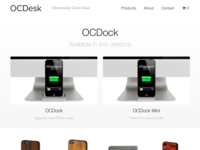 OCDesk new website catalog view