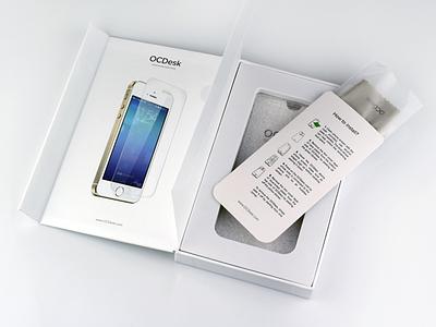Product package for OCGlass package box product ocglass ocdesk ecommerce