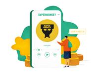 超级猩猩插图