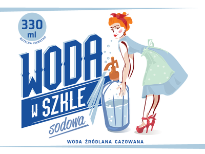 old school label_water