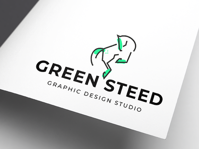 Green Steed_logo