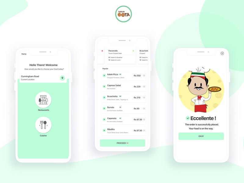 Food App demographics foodapp makeiteasy visualdesign uiux designobsessed illustration mobileapp