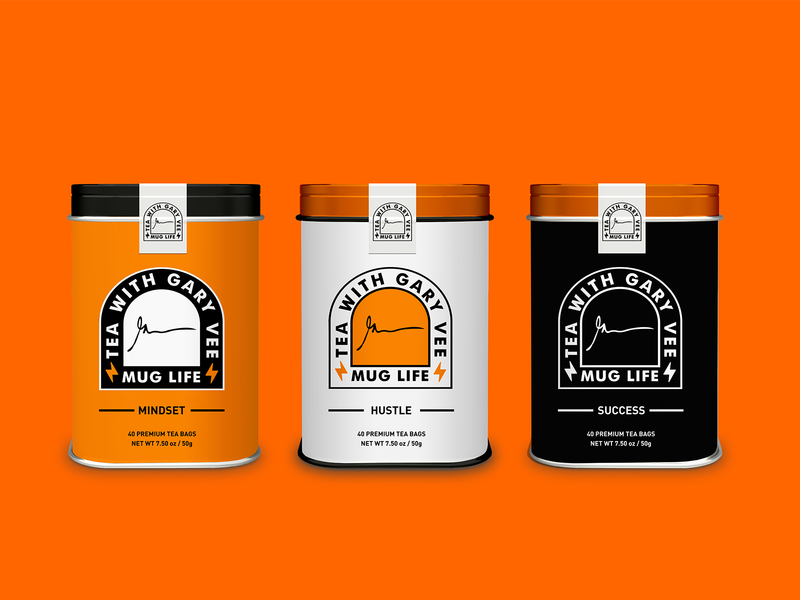 Tea with Gary Vee Packaging Design