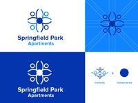 Springfield Park Apartments Logo Concept