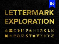 LetterMark Exploration Link in the Description Below ( Behance )