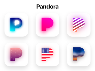 New iOS Pandora Icons - Concept