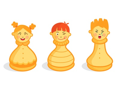 Chess figures (pawn and rook)