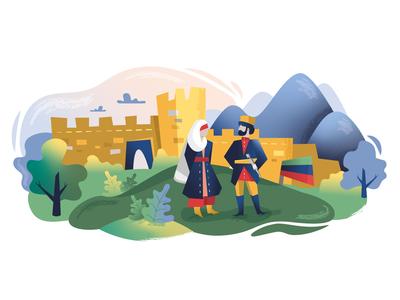 Illustration for NOVARTIS / Dagestan