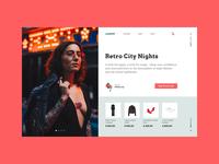 Total Look Online Store concept
