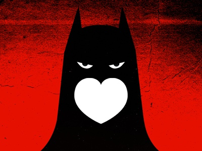 Double tap in Instagram to draw Batman's face batman instagram like face double tap dark knight