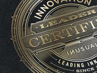 Innovation Leader Certified - Seal :)