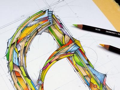 Some Typography / Lettering | Sketch typografia derwent handlettering pencil biernat szkic sketch typography lettering