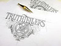 Truthtellers logo tomasz biernat 02
