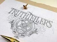 Truthtellers logo tomasz biernat 04