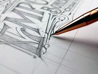 Tomasz biernat lettering sketch 04