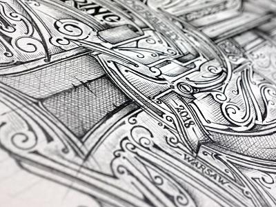 Self Promo | Sketch | TB typografia typography biernat rysunek pencil lettering details promo sketch