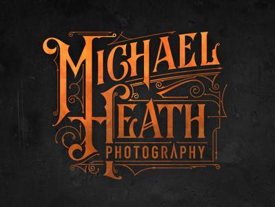 Michael Heath Photography lettering australia logo