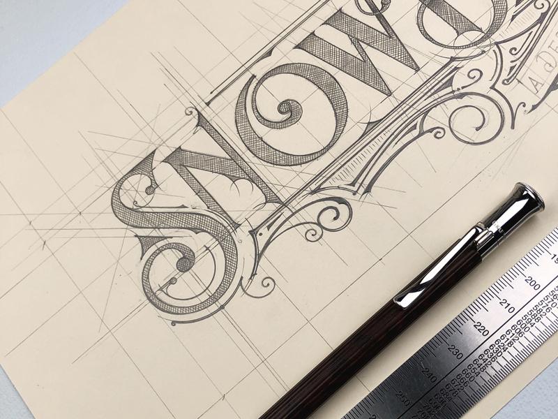 Snow Bowl Cafe | London sketch lettering logo london snowbowl