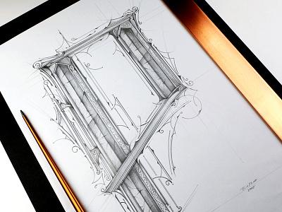 P | Lettering - Forever Prima sketch lettering art typography pencil primal forever prima