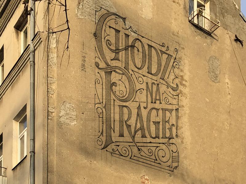 Chodz Na Prage Come On Praga Mural Warsaw By Tomasz Biernat