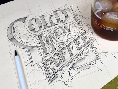 Cold Brew Coffee | ✏️sketch