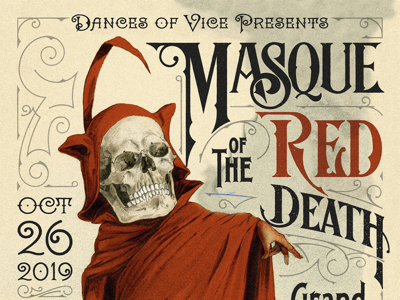 Masque of the Red Death | Poster