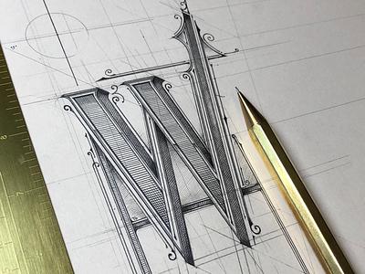 Lettering | wip✏️☕️ szkic sketch pencil poster handlettering warszawa warsaw lettering