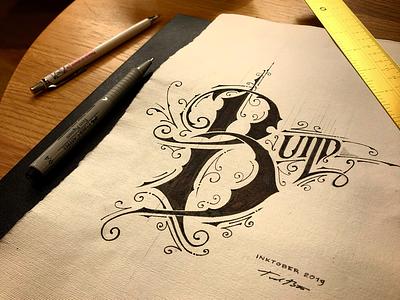 Inktober | Build 🖊✏️ details biernat handlettering lettering build inktober2019 inktober