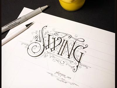 Inktober | Swing lettering biernat swing inktober2019 inktober