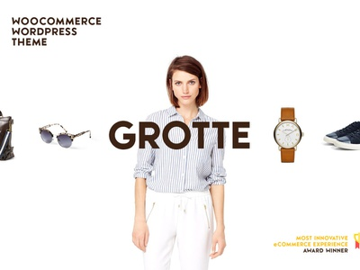 Grotte WooCommerce Theme Elements Cover store shopping shop woocommerce webdesign website wordpress web ux ui template theme design creative